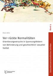 Cover Ver-rückte Normalitäten - Buch von Maria Kühn